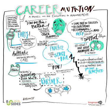 Career Mutation: A Panel on the Evolution to Management in Security
