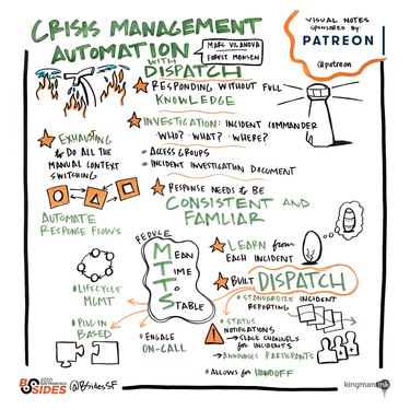 Dispatch: Crisis Management Automation When Everything is On Fire